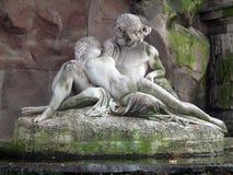 La fontaine de Medici Photos libres de droits