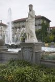La fontaine de quatre saisons Image libre de droits