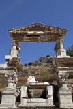 La fontaine de Traianus, Ephesus Photo stock