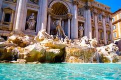 La fontaine de TREVI à Rome photographie stock