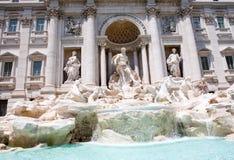La fontaine de TREVI à Rome, Italie Images libres de droits