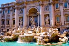 La fontaine de TREVI à Rome Italie photographie stock libre de droits