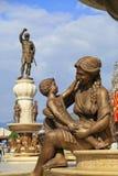 La fontaine des mères de Macédoine, place de Phillip II, Sko Photos libres de droits