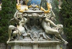 La fontaine est image libre de droits