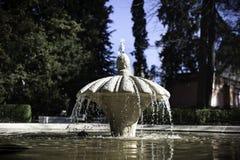 La fontaine publique Photos stock