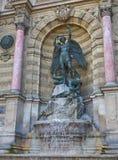 La Fontaine Saint-Michel Royalty Free Stock Photography