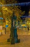La fontaine scénique Images libres de droits