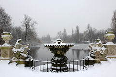 La fontana Immagine Stock