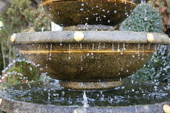 La fontana fotografia stock