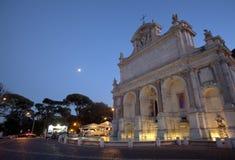 La fontana Acqua Paola a Roma Fotografie Stock Libere da Diritti