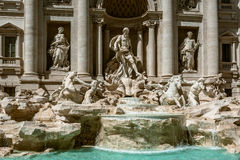 La fontana de Trevi, Roma Fotografia Stock