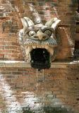 La fontana del drago sazia Immagini Stock