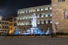 La fontana del Nettuno Fotografia Stock Libera da Diritti