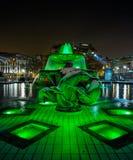 La fontana del quadrato di Trafalgar Immagini Stock
