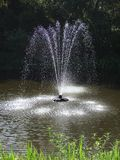 La fontana di acqua Fotografia Stock