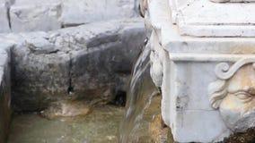 La fontana di Garraffaello in Vucciria, Palermo archivi video