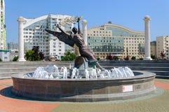 La fontana di Nick Fotografie Stock