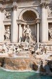 La fontana di Trevi Fotografie Stock