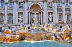 la fontana di Trevi immagine stock