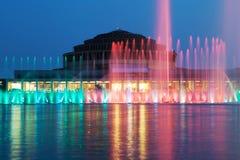 La fontana di Wroclaw Immagine Stock