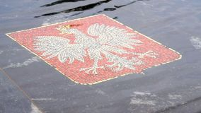 La fontana Hanseatic in Velikiy Novgorod, Russia stock footage