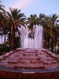 La fontana sull'argine Immagini Stock