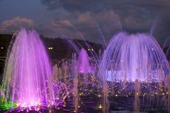 La fontana in Tsaritsyno Fotografia Stock