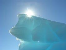 La fonte de la glace Photo libre de droits