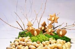 La forêt de pain d'épice Photo stock