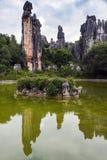 La forêt en pierre Image libre de droits