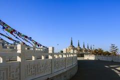 La foresta bianca della pagoda Immagini Stock Libere da Diritti