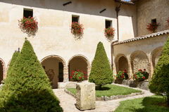 La Foresta Franciscan monastery cloister, Rieti Royalty Free Stock Images