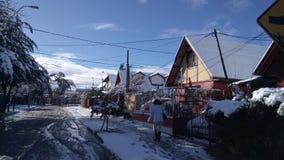 La Foresta, Puente alt för Nieve en-villa Arkivfoto