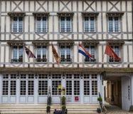 La Foret Normandië van Lyon mag 3de 2013: mooi gericht hout ho stock fotografie
