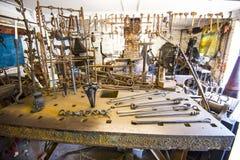 La forgia al priore di Michelham in Sussex orientale, Inghilterra immagini stock libere da diritti