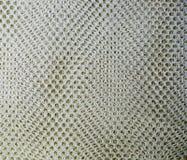 La forma del rombo ha ingabbiato la rete del tessuto Fondo, struttura fotografie stock