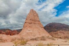 La formación de roca llamó Obelisco imágenes de archivo libres de regalías