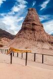 La formación de roca llamó Obelisco foto de archivo libre de regalías