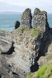 La formation antique et lèchent le château Image stock