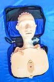 La formation de la ressuscitation d'assistance vitale et du CPR de base knowled Images stock