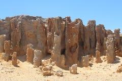 La formation de roche bizarre a appelé la forêt pétrifiée au cap Bridgewater, Victoria, Australie photo stock