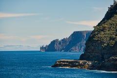 La formation de roche de lanternes, péninsule de Tasman image libre de droits