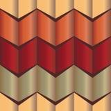 La forme de zigzag de modèle de gradient Photo stock