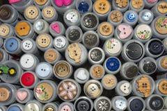 La forme différente boutonne la Norvège Image libre de droits
