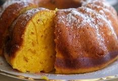 La forme ronde du ` s de petit gâteau Photos stock