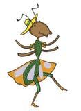 La formica favolosa sta ballando Immagini Stock Libere da Diritti