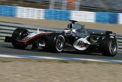La formula 1 2005 condice, Juan Pablo Montoya Fotografie Stock