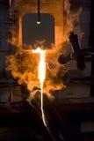 La fornace per la cottura del vetro Fotografia Stock Libera da Diritti