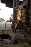 La fornace per la cottura del vetro immagine stock