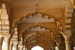 La fortaleza de Agra imagenes de archivo